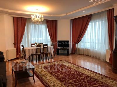 4-комнатная квартира, 160 м², 5/16 этаж, мкр Самал-2 98 — Достык за 120 млн 〒 в Алматы, Медеуский р-н