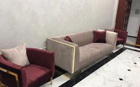 3-комнатная квартира, 90 м², 4/8 этаж помесячно, Сауран 19 за 330 000 〒 в Нур-Султане (Астана)