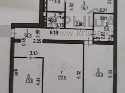 3-комнатная квартира, 105 м², 12/12 этаж, Сарыарка за 31.5 млн 〒 в Нур-Султане (Астана), Сарыарка р-н — фото 9