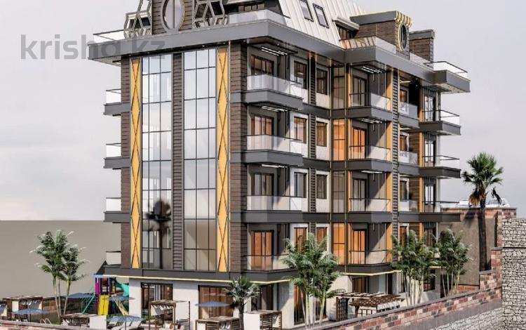 2-комнатная квартира, 52 м², 1/5 этаж, Аланья 2 за ~ 27.9 млн 〒