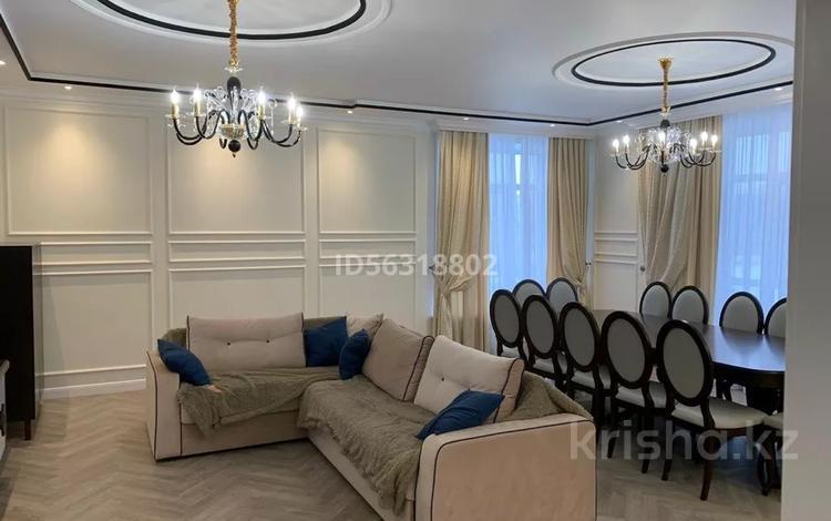 4-комнатная квартира, 153.1 м², 2/9 этаж, Бокейхана 11А за 90 млн 〒 в Нур-Султане (Астана), Есиль р-н