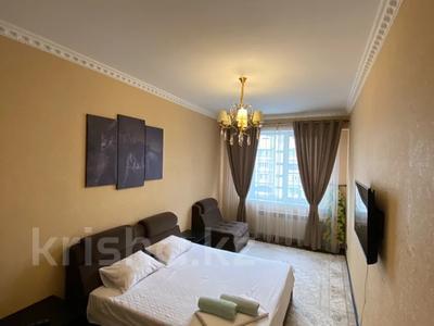 1-комнатная квартира, 45 м², 7/12 этаж по часам, Гагарина 287 — Дунаевского за 3 000 〒 в Алматы