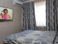1-комнатная квартира, 35 м², 3/5 этаж посуточно, Иляева 17 А — Рыскулбекова за 8 000 〒 в Шымкенте, Аль-Фарабийский р-н