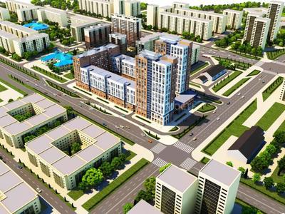 1-комнатная квартира, 39.25 м², 4/23 этаж, Сарыкол — Айнакол за ~ 8.6 млн 〒 в Нур-Султане (Астана), Алматы р-н