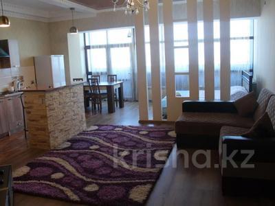 1-комнатная квартира, 55 м², 11/16 этаж посуточно, Айманова 140 — Мынбавева за 10 000 〒 в Алматы, Бостандыкский р-н