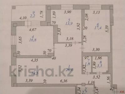 3-комнатная квартира, 100 м², 8/9 этаж, Кумисбеков 8 — Сейфуллина за 27.5 млн 〒 в Нур-Султане (Астана), Сарыаркинский р-н — фото 9