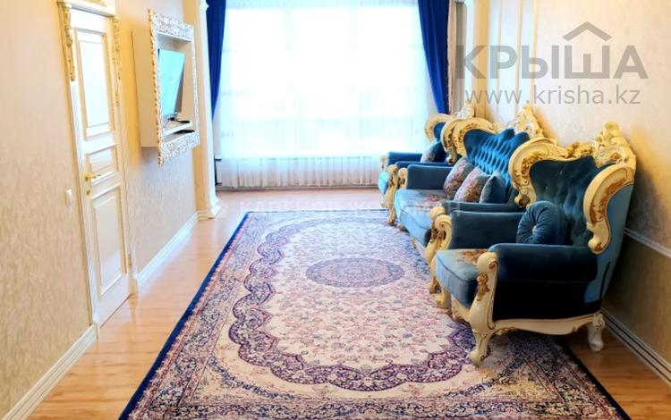 2-комнатная квартира, 90 м², 5/10 этаж, Кабанбай Батыра — Бегалина за 56 млн 〒 в Алматы, Медеуский р-н