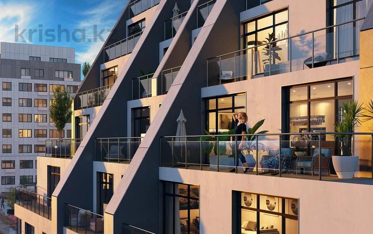 2-комнатная квартира, 94.6 м², мкр. Самал-3 15 за ~ 56.7 млн 〒 в Алматы, Медеуский р-н