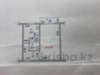 1-комнатная квартира, 32 м², 1/5 этаж, Байтурсынова 4 — Гоголя за 14.8 млн 〒 в Алматы, Алмалинский р-н