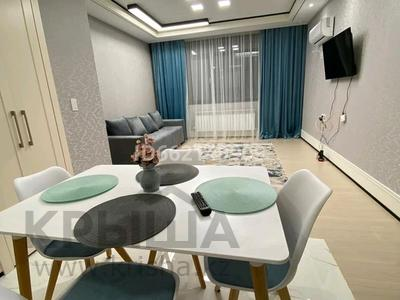 2-комнатная квартира, 50 м², 17/20 этаж помесячно, Нажимеденова 4 за 210 000 〒 в Нур-Султане (Астана), Алматы р-н