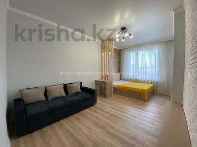 1-комнатная квартира, 40 м², 6/16 этаж помесячно, Тлендиева 133 за 180 000 〒 в Алматы, Бостандыкский р-н