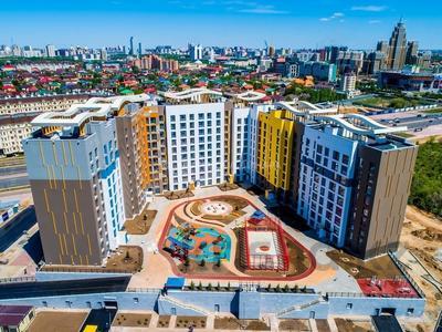 2-комнатная квартира, 75.74 м², 12 этаж, Каиыма Мухамедханова 4а за ~ 28.5 млн 〒 в Нур-Султане (Астана), Есиль р-н