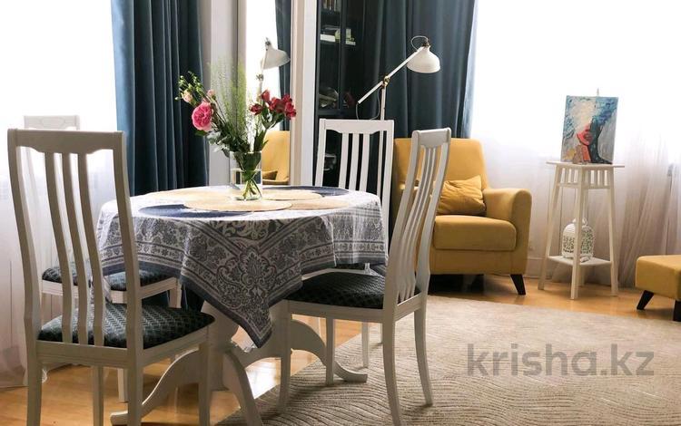 2-комнатная квартира, 70 м², 12/31 этаж помесячно, Байтурсынова 1 за 250 000 〒 в Нур-Султане (Астана), Алматы р-н
