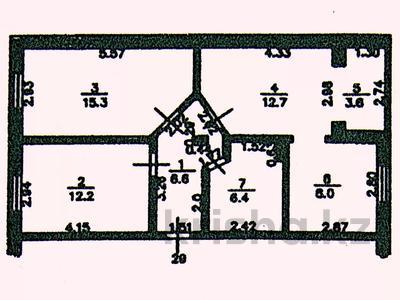 3-комнатная квартира, 64.8 м², 5/5 этаж, Микрорайон №7 за 12 млн 〒 в Новой бухтарме — фото 29