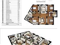 5-комнатная квартира, 212 м², 25/40 этаж поквартально
