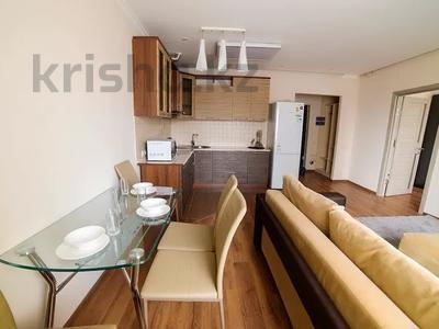 2-комнатная квартира, 70 м², 5/25 этаж посуточно, Каблукова 38г за 13 000 〒 в Алматы, Бостандыкский р-н — фото 4