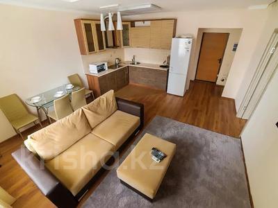 2-комнатная квартира, 70 м², 5/25 этаж посуточно, Каблукова 38г за 13 000 〒 в Алматы, Бостандыкский р-н