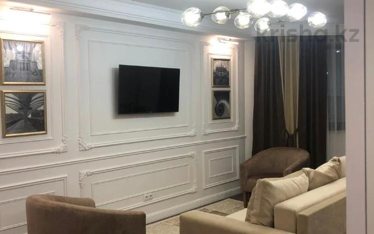 3-комнатная квартира, 100 м², 12/14 этаж, Торайгырова 25 за 45 млн 〒 в Алматы, Бостандыкский р-н
