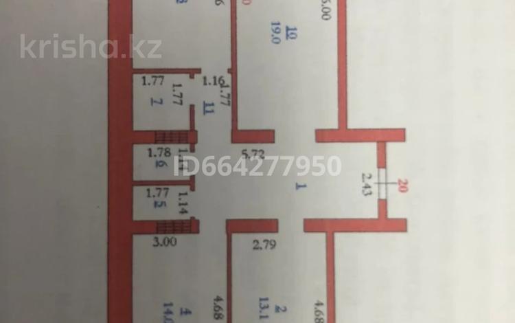 3-комнатная квартира, 86.2 м², 4/7 этаж, мкр. Батыс-2, Мкр Батыс 2 49Д за 17.8 млн 〒 в Актобе, мкр. Батыс-2