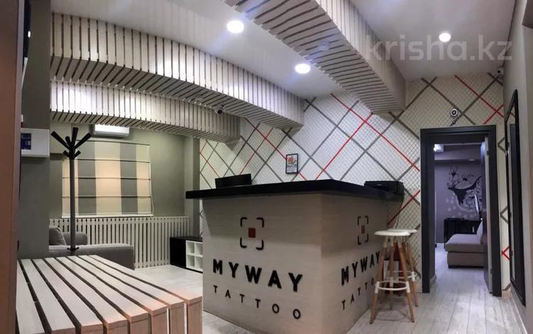 Помещение площадью 99.9 м², Назарбаева 118 — Богенбай Батыра за 58.8 млн 〒 в Алматы, Медеуский р-н
