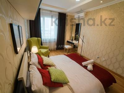 2-комнатная квартира, 50 м², 9/24 этаж посуточно, Абиша Кекилбаева 38Г за 16 000 〒 в Алматы, Бостандыкский р-н