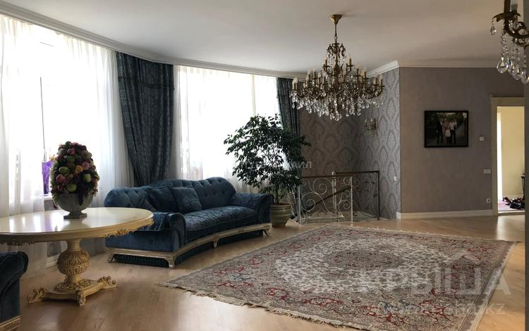6-комнатный дом, 400 м², 20 сот., Оспанова за 300 млн 〒 в Алматы