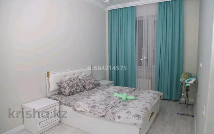 1-комнатная квартира, 45 м², 3/9 этаж по часам, Рыскулбекова 31/1 за 2 000 〒 в Нур-Султане (Астане), Алматы р-н