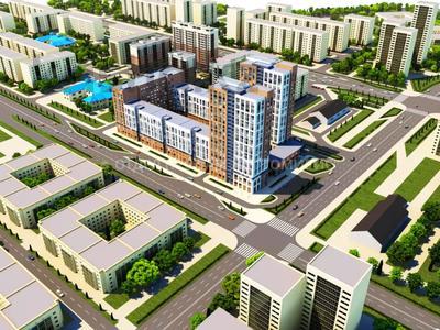 3-комнатная квартира, 103.25 м², 9/9 этаж, Айнакол — Сарыкол за 21.4 млн 〒 в Нур-Султане (Астана), Алматы р-н — фото 7
