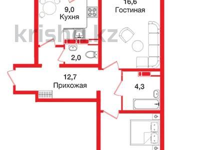 2-комнатная квартира, 60 м², 10/12 этаж, мкр Акбулак — 1-я ул за 18.2 млн 〒 в Алматы, Алатауский р-н — фото 8