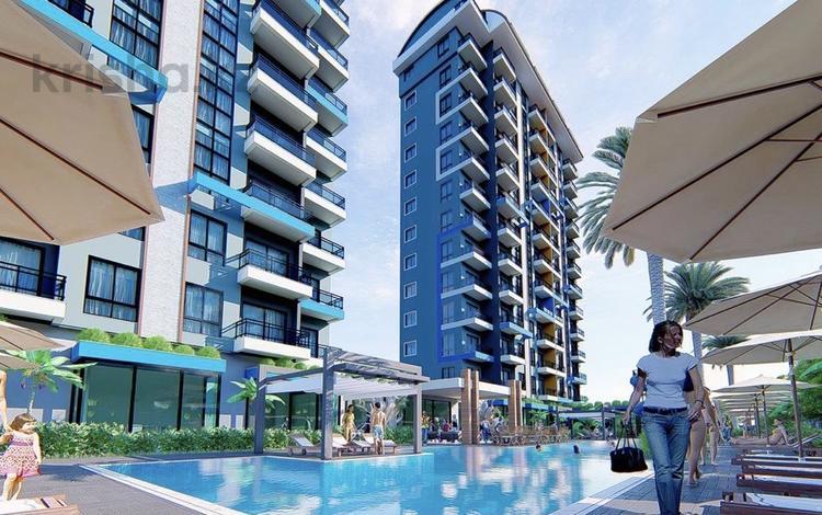 2-комнатная квартира, 51 м², Махмутлар за 22.5 млн 〒 в