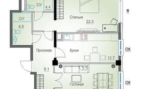 2-комнатная квартира, 73.7 м², Толе би 189/3 за ~ 28.9 млн 〒 в Алматы, Алмалинский р-н