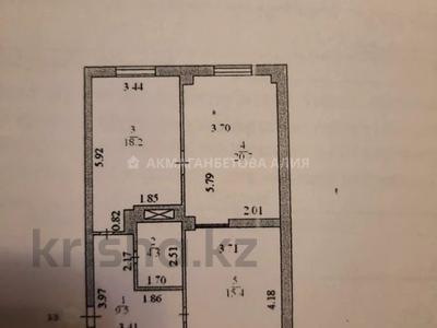 2-комнатная квартира, 68 м², 9/16 этаж, Иманова за 20 млн 〒 в Нур-Султане (Астане), р-н Байконур