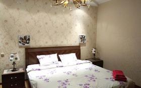 2-комнатная квартира, 80 м², 5/17 этаж посуточно, Хусаинова 225 за 14 000 〒 в Алматы, Бостандыкский р-н