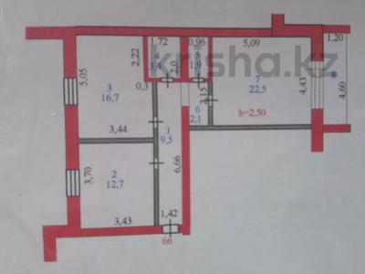 2-комнатная квартира, 71.6 м², 1/5 этаж, Уральская 30 — Ухабова за 12.5 млн 〒 в Петропавловске