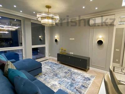 1-комнатная квартира, 45 м², 5/9 этаж посуточно, Гагарина проспект 124 — Абая за 19 000 〒 в Алматы, Бостандыкский р-н