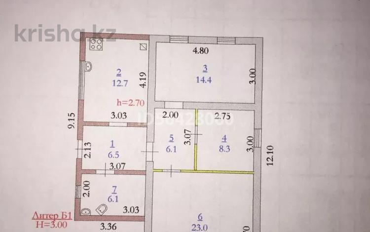 3-комнатный дом, 77 м², 4.5 сот., Байганина за 9 млн 〒 в Актобе