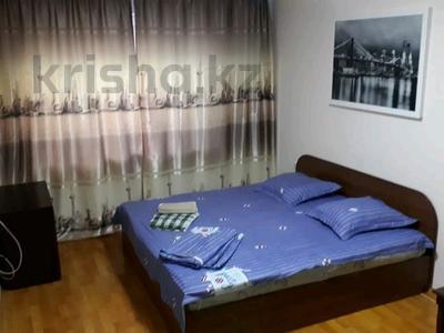 1-комнатная квартира, 32 м², 1/4 этаж посуточно, Ауэзова — Габдуллина за 8 000 〒 в Алматы, Бостандыкский р-н