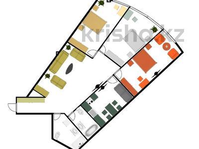 3-комнатная квартира, 141.9 м², 2/2 этаж, мкр Ерменсай, Ремизовка — проспект Аль-Фараби за 55.3 млн 〒 в Алматы, Бостандыкский р-н