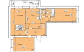 3-комнатная квартира, 85.3 м², 9/9 этаж, ул. Карбышева — ул. Челябинская за ~ 21.3 млн 〒 в Костанае