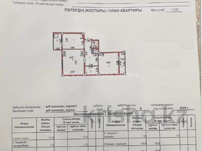 2-комнатная квартира, 83 м², 5/9 этаж, Алматы 19/2 за 27.5 млн 〒 в Нур-Султане (Астана), Есиль р-н — фото 19