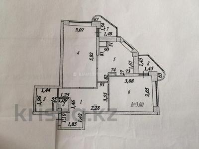 2-комнатная квартира, 55 м², 7/25 этаж, Абая 92/3 — Янушкевича за 16.3 млн 〒 в Нур-Султане (Астана), р-н Байконур — фото 10