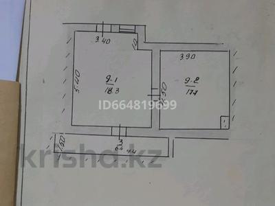3-комнатный дом, 54 м², Кабланова(бывшая Гагарина) 87кв9 за 7 млн 〒 в Ленгере