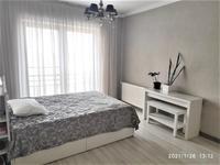 2-комнатная квартира, 94 м², 4/10 этаж помесячно, Кабанбай батыра 51 за 350 000 〒 в Алматы, Медеуский р-н