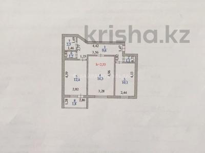 2-комнатная квартира, 55 м², 6/6 этаж, Петрова 23 — Жанайдара Жирентаева за ~ 17.3 млн 〒 в Нур-Султане (Астана), Алматы р-н