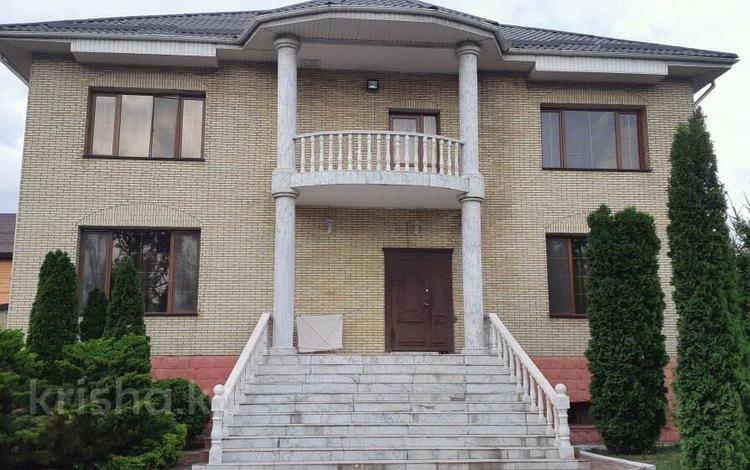 7-комнатный дом посуточно, 600 м², 6 сот., мкр Калкаман-3, Саги Ашимова 223 за 90 000 〒 в Алматы, Наурызбайский р-н