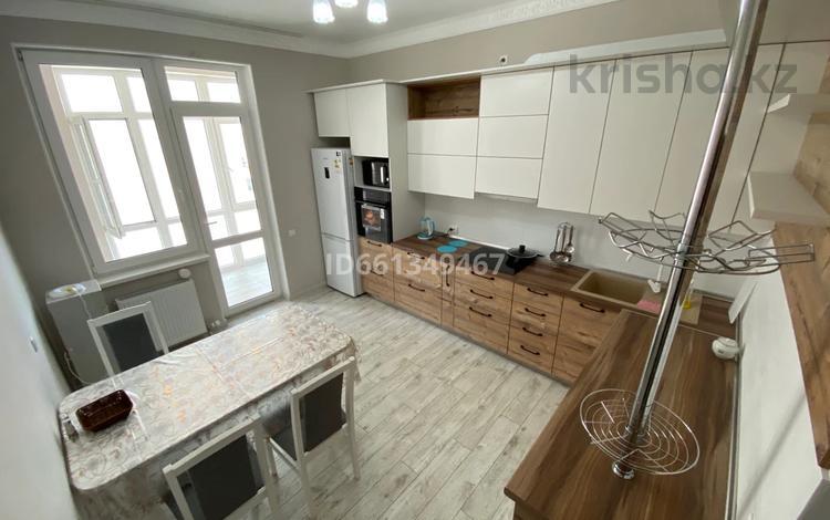 2-комнатная квартира, 75 м², 7/12 этаж посуточно, Алиби Жангелдин 67 за 25 000 〒 в Атырау