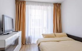 1-комнатная квартира, 40 м², 8/9 этаж посуточно, Абая 130 — Розыбакиева за 12 000 〒 в Алматы, Бостандыкский р-н
