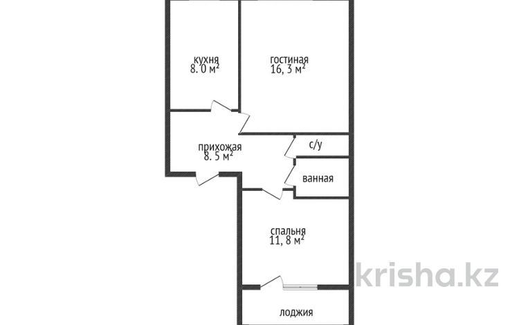 2-комнатная квартира, 50 м², 2/6 этаж, Маяковского 105 за 11.8 млн 〒 в Костанае