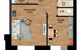 1-комнатная квартира, 42.3 м², 5/7 этаж, Батыс-2 49Д к2 за 7.4 млн 〒 в Актобе, мкр. Батыс-2