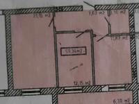 2-комнатная квартира, 58.8 м², 5/9 этаж, Байтурсынова 39 — Жумабаева за 13.7 млн 〒 в Нур-Султане (Астане), Алматы р-н